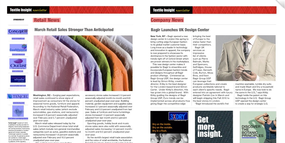 Textile Insight Magazine