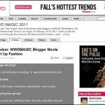 Style Bistro Interviews StartUpFASHION for WWD MAGIC