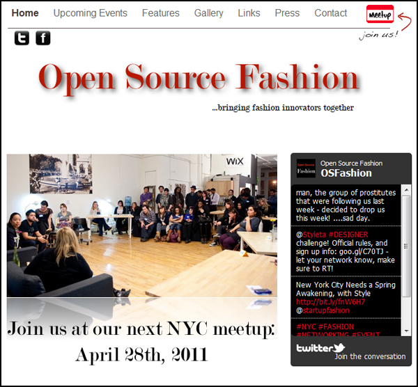 Open Source Fashion Meetup