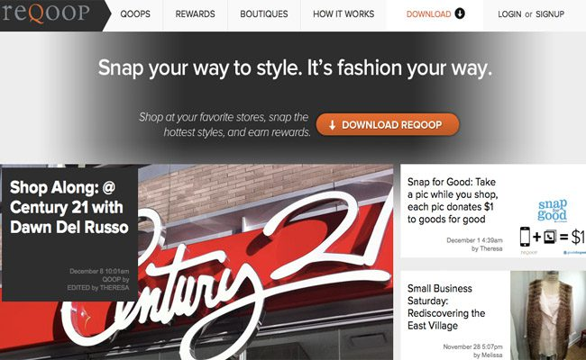 StartUp Fashion resource ReQoop