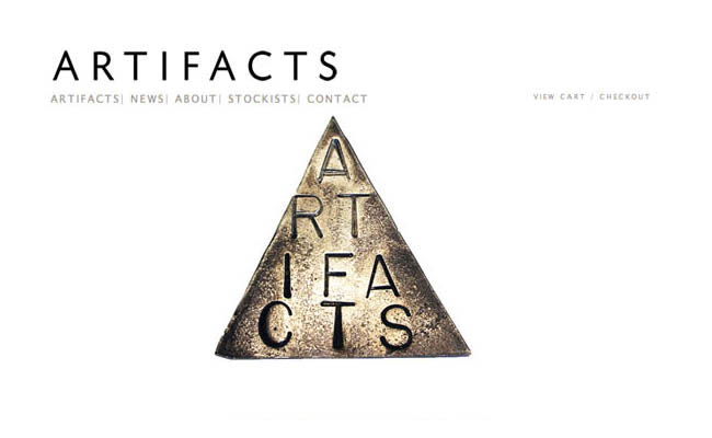 Artifacts jewelery design - StartUp FASHION business resource