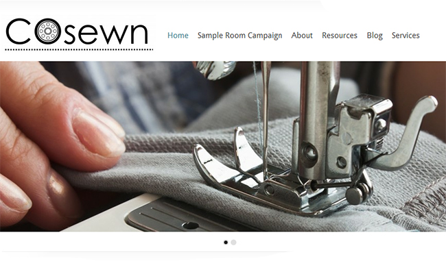 COsewn local fashion manufacturing