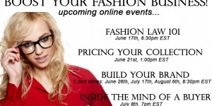 4 Upcoming Online Events to Boost Your Fashion Business